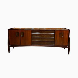 Zebrano and Afromosia Sideboard, 1960s