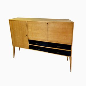 Vintage Sideboard in Oak with Compass Legs