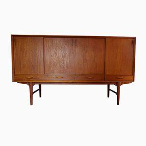 Vintage Teak Furnier Sideboard von H.P. Hansen