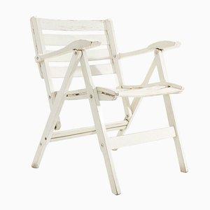 Italian Folding Armchair by Fratelli Reguitti, 1950s