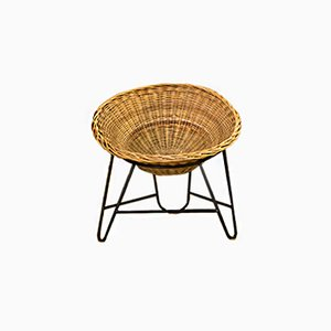Vintage Basket Chair