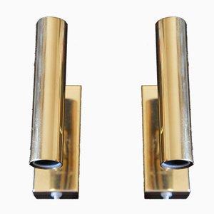 Vintage Brass Sconces from Fog & Morup, Set of 2