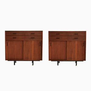 Italian Commodes, 1960s, Set of 2