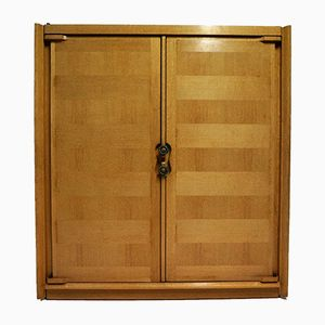 Oak Wardrobe by Guillerme et Chambron for Votre Maison