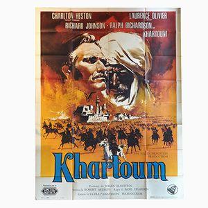 Khartoum Film Poster, 1960s
