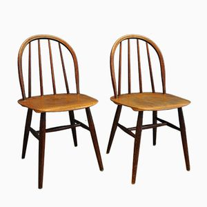 Fanett Chairs by Ilmari Tapiovaara for Edsby Verken, 1950s, Set of 2