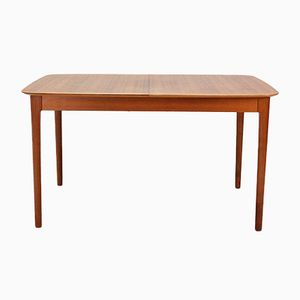 Extendable Walnut Veneer Dining Table from Lübke, 1960s