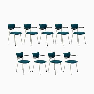 Armchairs by Martin de Wit for Gebr. de Wit, 1962, Set of 11
