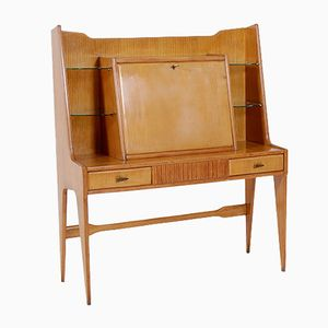 Console with Desk Flap, 1950s