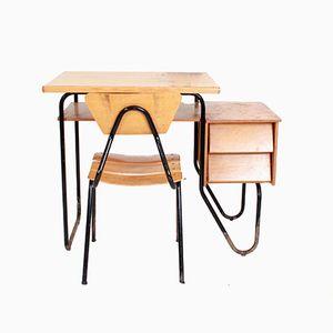 Vintage Children's Desk & Chair