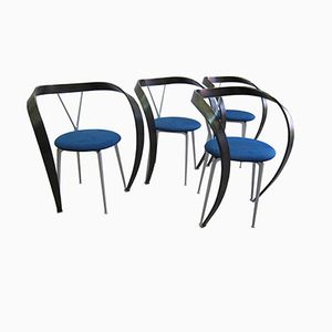 Revers Dining Chairs by Andrea Branzi for Cassina, 1995, Set of 4