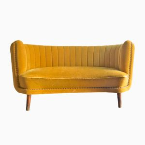 Art Deco Two-Seater Sofa