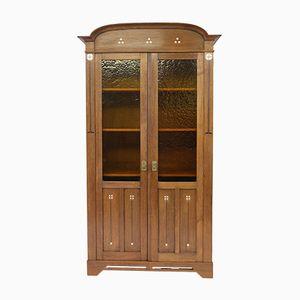 Dutch Oak Arts & Crafts Bookcase, 1900s