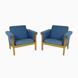 Dänischer Sessel von Hans J. Wegner für Getama, 2er Set