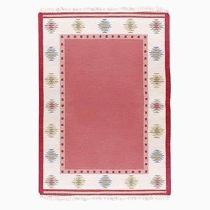 Schwedischer Vintage Rolakan Teppich aus Handgewebter Wolle
