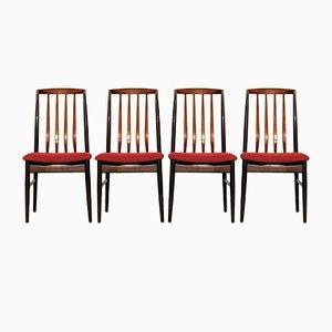 Danish Modern Rosewood Dining Chairs from Vamo Sønderborg, Set of 4