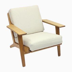 GE 290 Sessel von Hans J. Wenger für Getama, 1960er