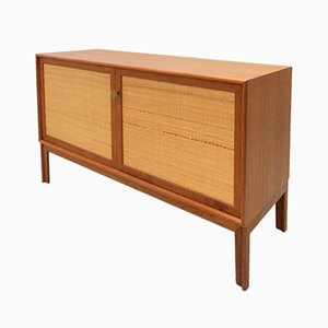 Vintage Norrland Teak Veneered Sideboard by Alf Svensson for Bjästa
