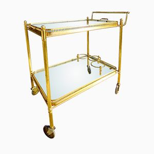 Mid-Century Bar Trolley from Maison Baguès