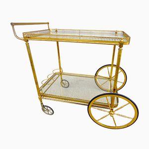 Mid-Century Serving Cart from Maison Baguès