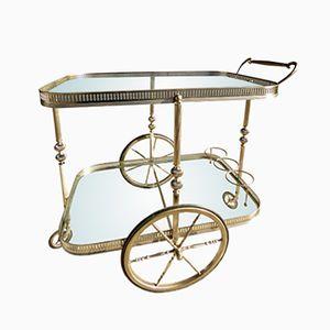 Mid-Century Servierwagen von Maison Baguès