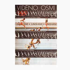 Olympiade '72 München Filmposter von Milan Grygar, 1975