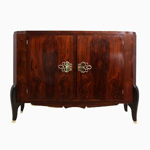 French Art Deco Sideboard in Rosewood, 1920s