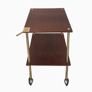 Kleiner T9 Tisch von Luigi Caccia Dominioni für Azucena, 1955