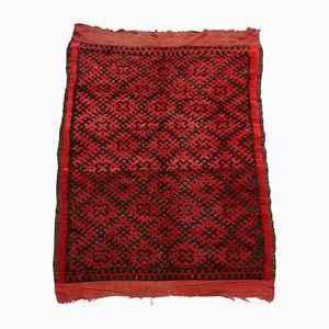 Vintage Moroccan Ait Bou Ichaouen Rug