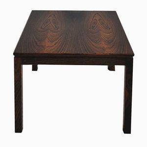 Vintage Scandinavian Rosewood Veneer Side Table