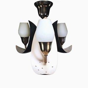 Dänische Moderne Sichelförmige Hängelampe von Karlby für Fog & Morup, 1950er