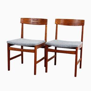Skandinavische Mid-Century Stühle von Ulferts, 2er Set
