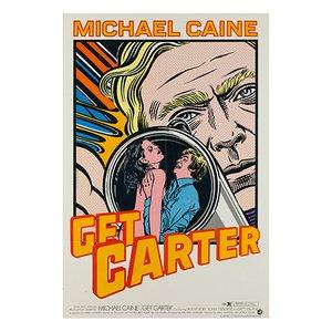 Affiche Get Carter par John Van Hamersveld, 1968