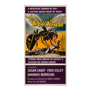 The Wasp Woman Poster, 1959