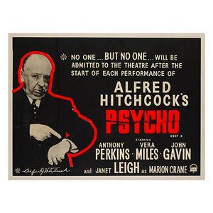 Affiche Psycho, 1960