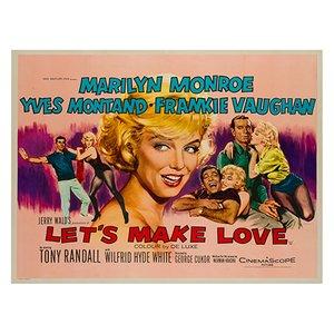 Machen wir's in Liebe Poster von Tom Chantrell, 1960