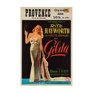 Affiche Gilda, 1946