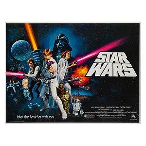 Affiche Star Wars par Tom Chantrell, 1977
