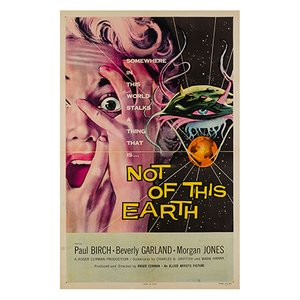 Not of This Earth Poster by Albert Kallis, 1957