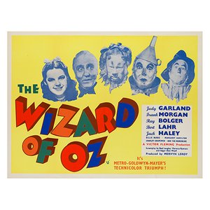 Affiche The Wizard of Oz, 1959
