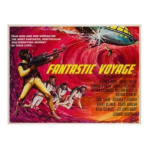 Fantastic Voyage Film Poster, 1966
