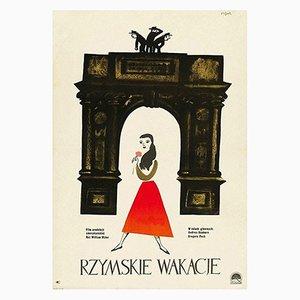 Ein Herz und eine Krone Poster von Jerzy Flisak, 1959