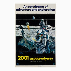 2001 A Space Odyssey Film Poster, 1968
