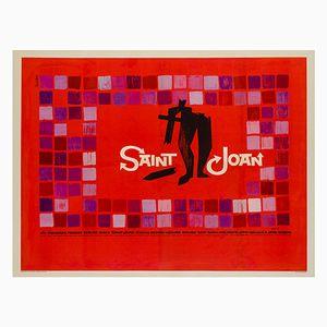 Affiche Saint Joan par Saul Bass, 1957