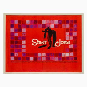 Saint Joan Poster by Saul Bass, 1957