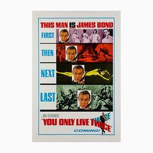 James Bond 007 Man lebt nur zweimal Poster, 1967
