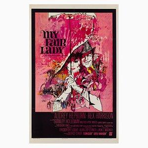 Affiche My Fair Lady par Bob Peak, 1964