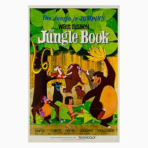 The Jungle Book Poster, 1967