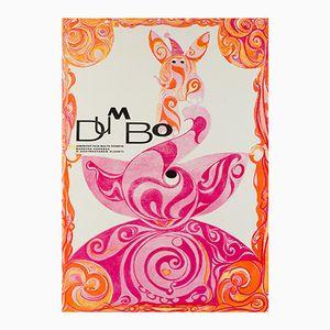 Affiche Dumbo, 1971
