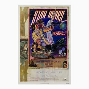 Affiche Star Wars par Drew Struzen, 1977